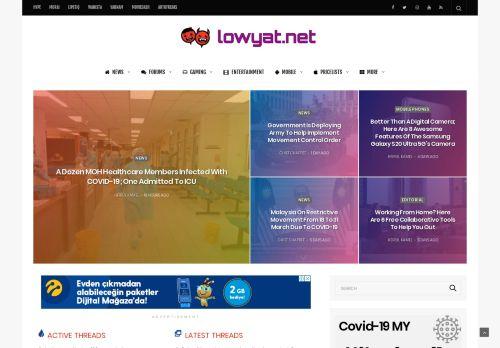 lowyat.net Desktop Screenshot