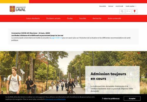ulaval.ca Desktop Screenshot