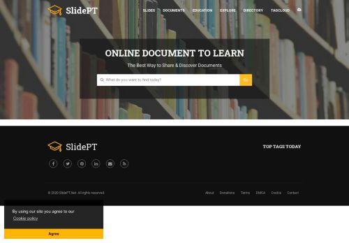 slidept.net Desktop Screenshot