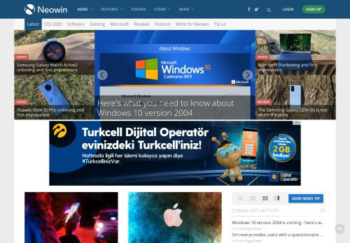 neowin.net Desktop Screenshot