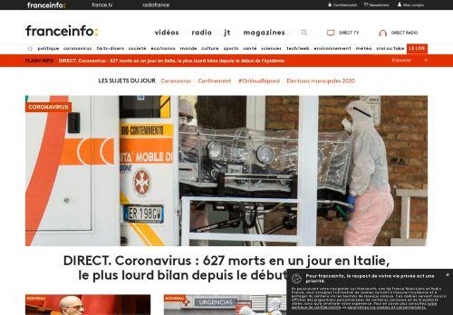 francetvinfo.fr Desktop Screenshot