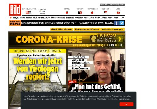 bild.de Desktop Screenshot