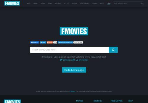 fmovies.to Desktop Screenshot