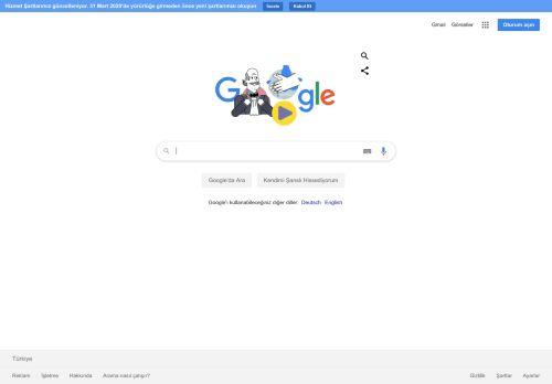 google.de Desktop Screenshot