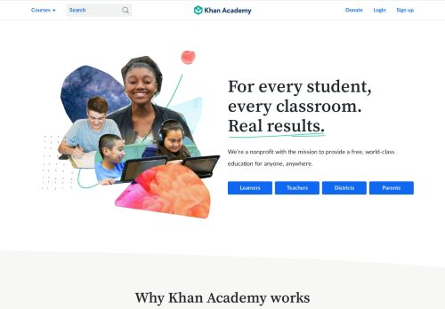 khanacademy.org Desktop Screenshot