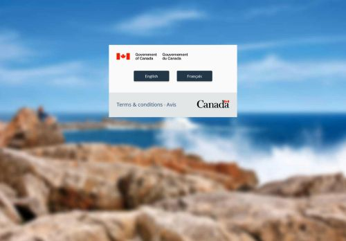 canada.ca Desktop Screenshot