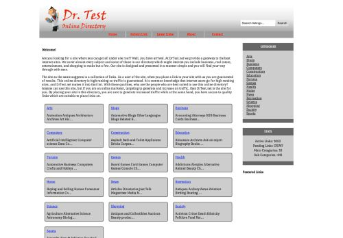 drtest.net Desktop Screenshot