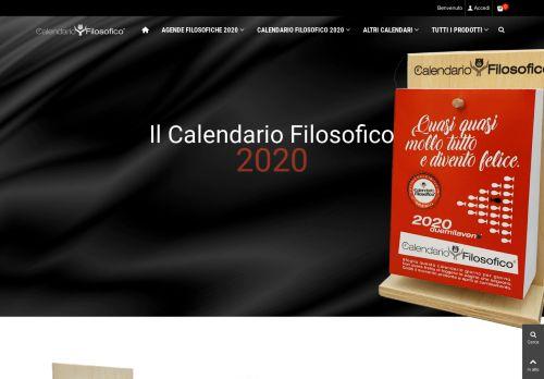ilcalendariofilosofico.it Desktop Screenshot