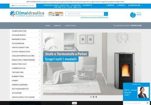 climaidraulica.it Desktop Screenshot