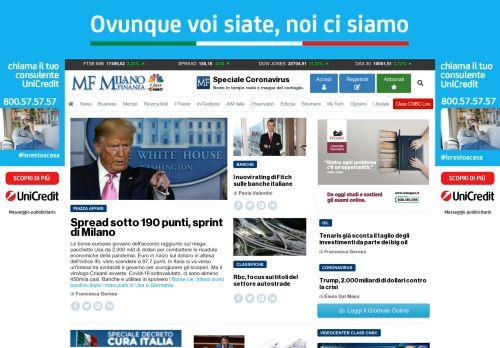 milanofinanza.it Desktop Screenshot