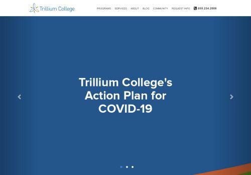 trilliumcollege.ca Desktop Screenshot