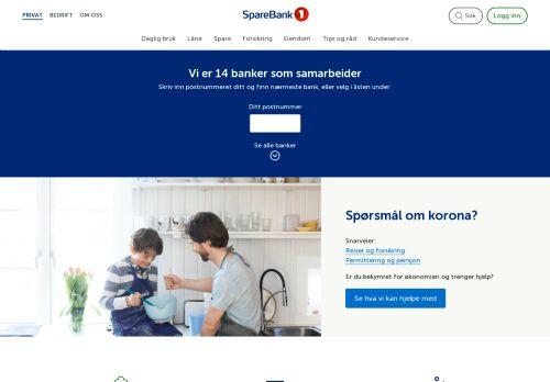 sparebank1.no Desktop Screenshot
