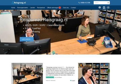 reisgraag.nl Desktop Screenshot