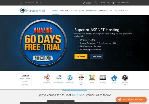 smarterasp.net Desktop Screenshot