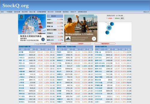 stockq.org Desktop Screenshot