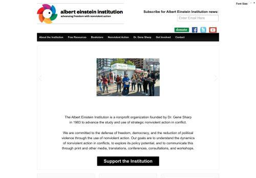 aeinstein.org Desktop Screenshot