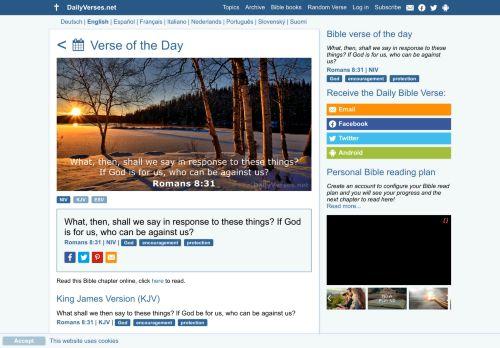 dailyverses.net Desktop Screenshot
