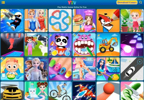 free mobile games and tablet games online