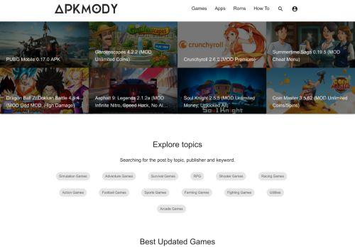 apkmody.io Desktop Screenshot