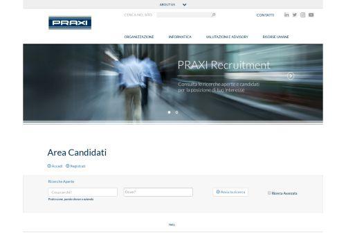 recruitment.praxi Desktop Screenshot