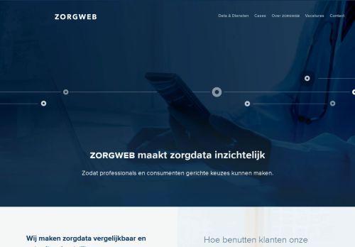 z-advies.nl Desktop Screenshot