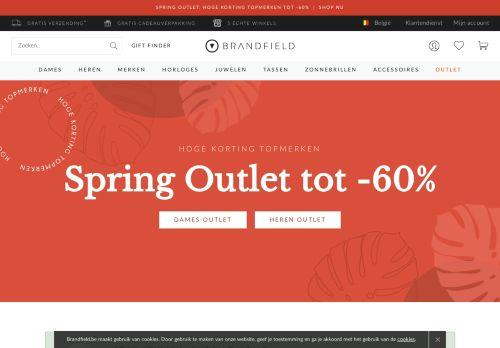 brandfield.be Desktop Screenshot