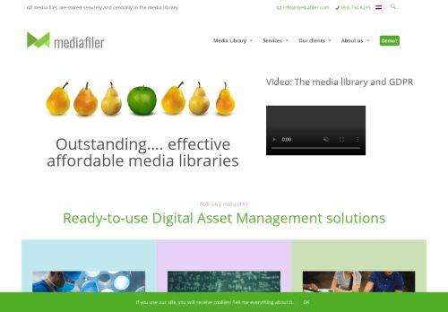 mediafiler.net Desktop Screenshot
