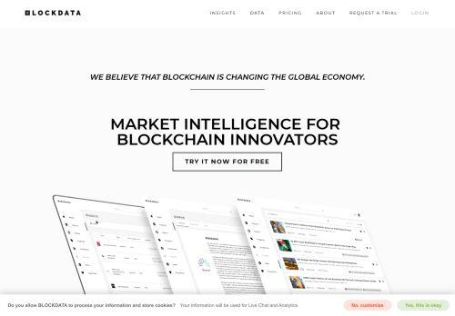 blockdata.tech Desktop Screenshot