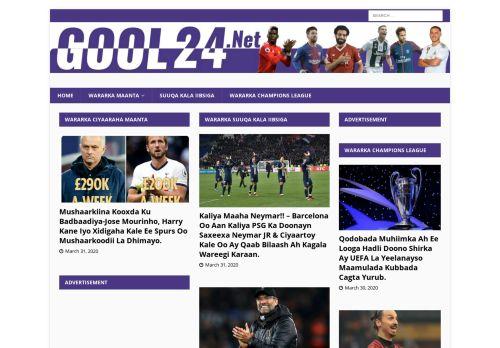 gool24.net Desktop Screenshot