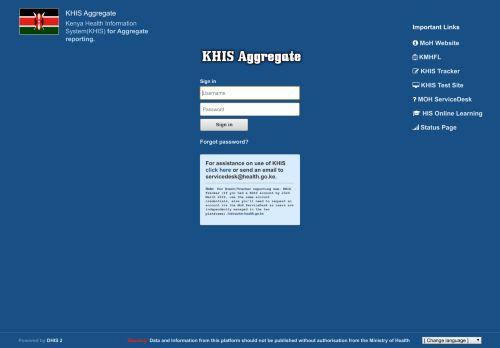 hiskenya.org Desktop Screenshot