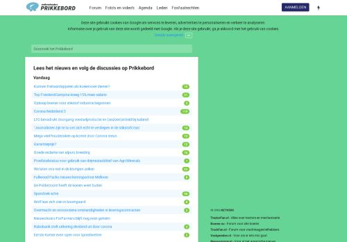 prikkebord.nl Desktop Screenshot