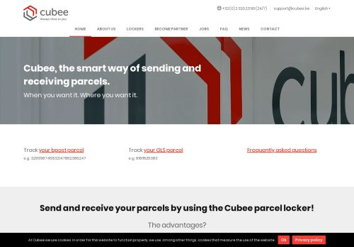 cubee.be Desktop Screenshot